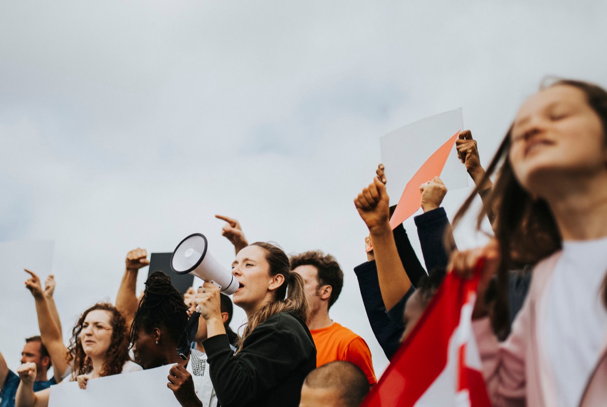 Group of American activists is protesting; The Internet, Radical Ideas and a 500-Year-Old Lesson