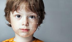 Biometric Verification - Boy Face Detection, high technology